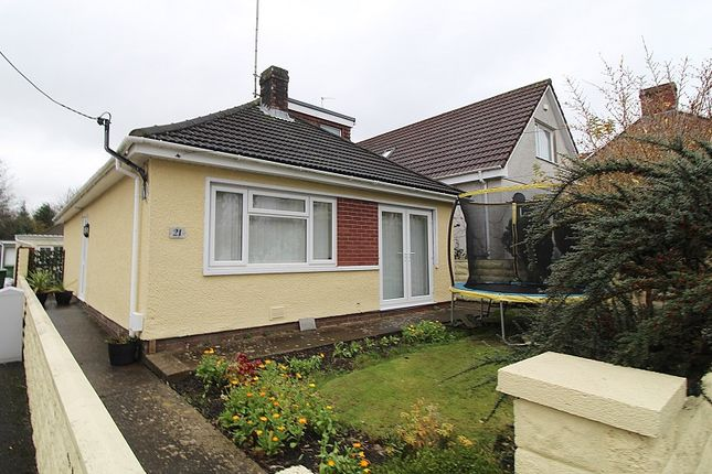 Thumbnail Detached bungalow for sale in Lewis Street, Pontyclun, Rhondda, Cynon, Taff.