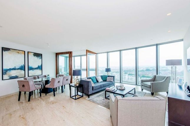 Thumbnail Flat to rent in The Tower, 1 St George Wharf, Vauxhall