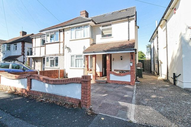 Thumbnail Semi-detached house for sale in Diban Avenue, Hornchurch, Essex