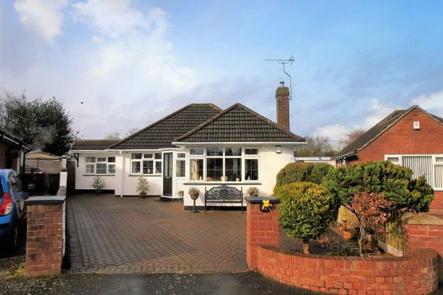 Thumbnail Detached bungalow for sale in Sherbrook Close, Brocton, Stafford