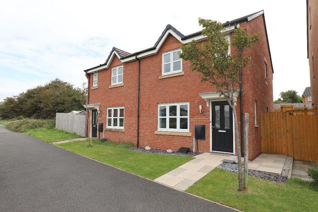 Thumbnail Semi-detached house for sale in Mossgate Park, Heysham, Morecambe