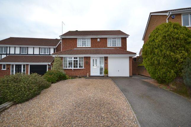Thumbnail Detached house for sale in Wensleydale, Brampton Park, Northampton