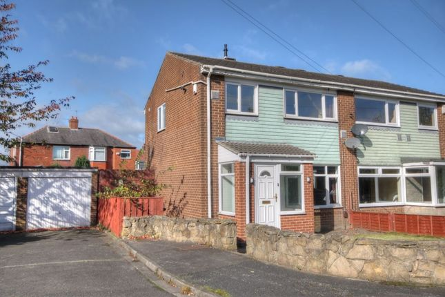 Thumbnail Semi-detached house for sale in Acton Road, West Denton, Newcastle Upon Tyne