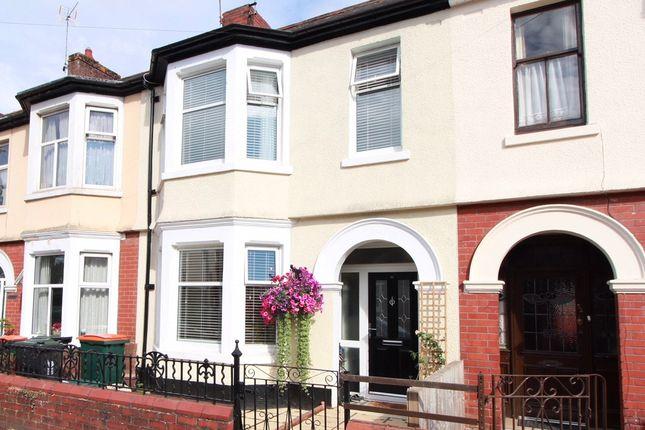 Thumbnail Terraced house for sale in Broadwalk, Caerleon, Newport