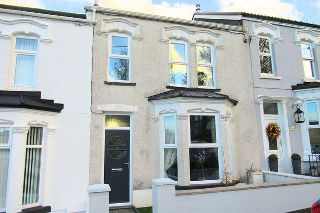 Thumbnail Terraced house for sale in Gladstone Street, Maesteg, Bridgend.