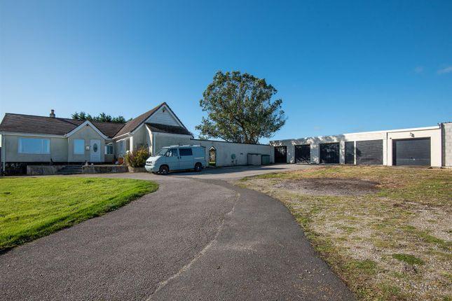 Triple Garage of Hillhead Road, Kergilliack, Falmouth TR11
