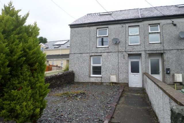 Thumbnail End terrace house to rent in 1, Nantlle Road, Talysarn