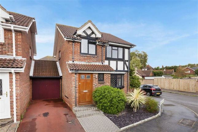 Thumbnail Link-detached house for sale in Hawkins Way, Hailsham