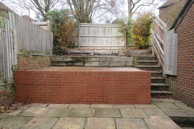 Rear Garden of Falcon View, Winchester SO22