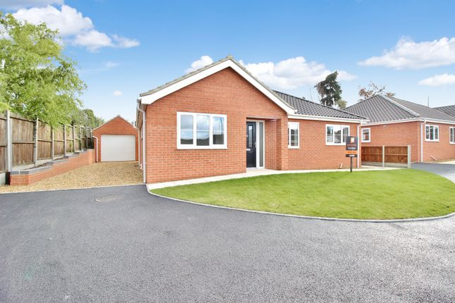 Thumbnail Detached bungalow for sale in Foxes Court, Norwich