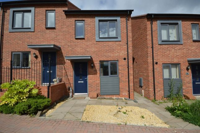 Thumbnail Semi-detached house to rent in Light Lane, Lawley Village, Telford
