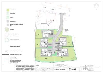 Thumbnail Land for sale in Residential Development Opportunity, Front Street, Witton Gilbert, Durham
