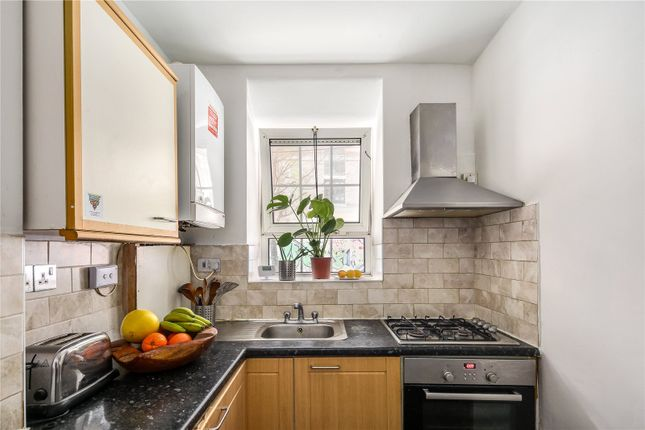 Kitchen of Wheler House, Quaker Street, London E1