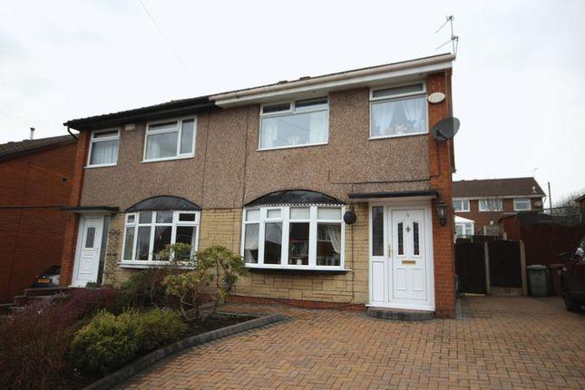 Thumbnail Semi-detached house for sale in Earnshaw Avenue, Healey, Rochdale