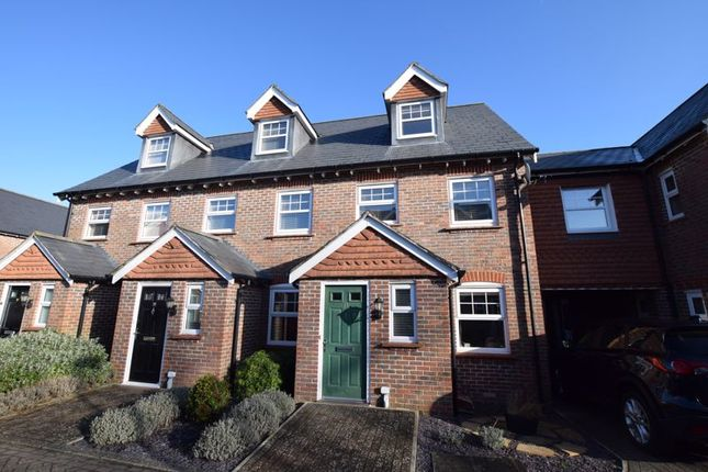 Thumbnail Terraced house to rent in Helens Close, Alton