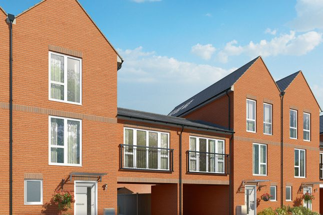 """Thumbnail Terraced house for sale in """"The Filbert """" at Connolly Way, Chichester"""