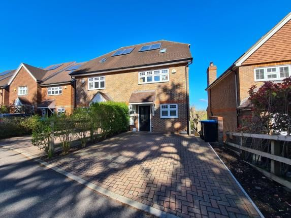 Thumbnail Semi-detached house for sale in Tupwood Gardens, Caterham, Surrey, .