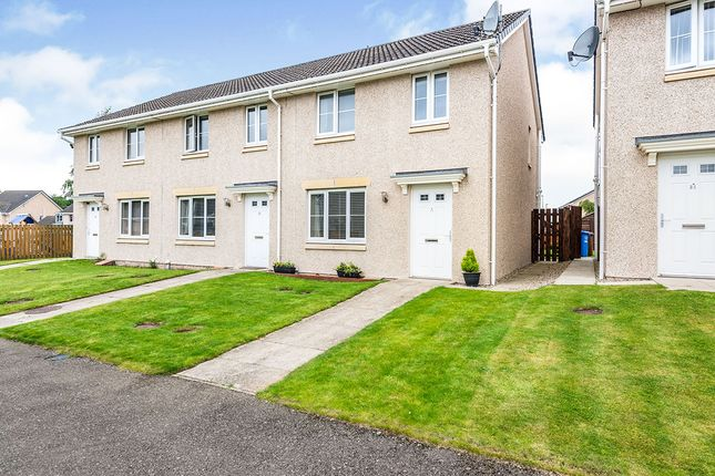 Thumbnail End terrace house for sale in Doocot Court, Elgin, Moray
