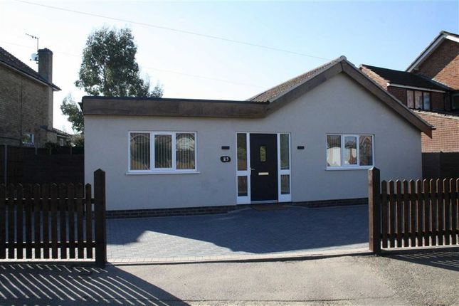 Thumbnail Detached bungalow for sale in Wellesbourne Drive, Glenfield, Leicester