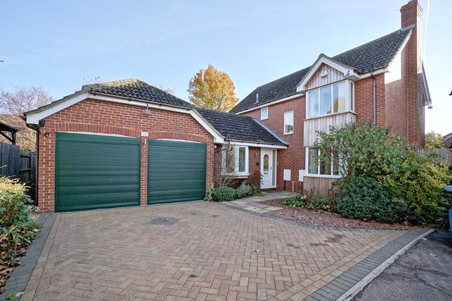 Thumbnail Detached house for sale in Sapley Road, Huntingdon, Cambridgeshire.