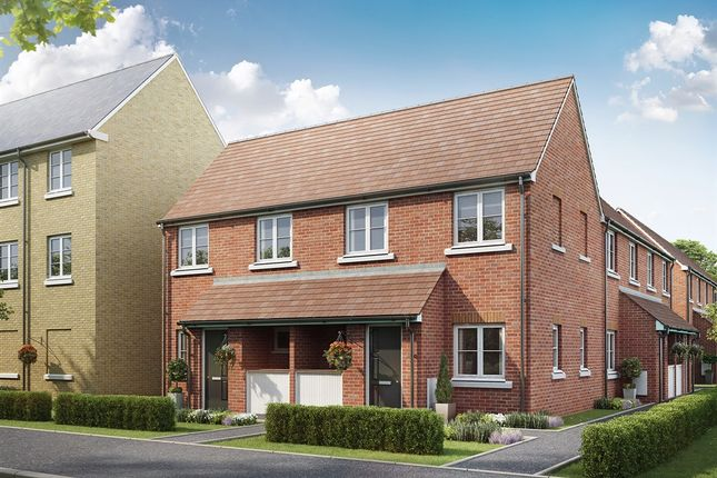 "Thumbnail End terrace house for sale in ""The Aster "" at Bellona Drive, Peterborough"