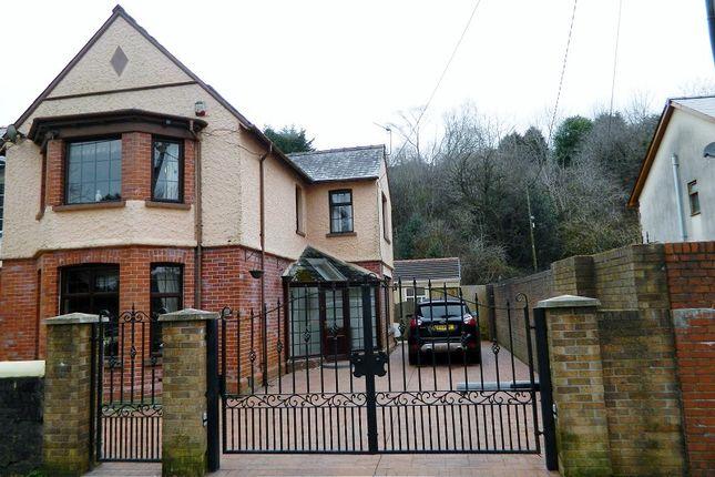 Thumbnail End terrace house for sale in Church Street, Tredegar, Blaenau Gwent.