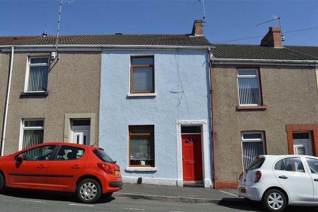 Thumbnail Terraced house for sale in Sebastopol Street, Swansea