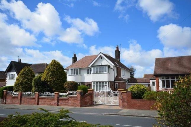 Thumbnail Detached house for sale in West Drive, Cleveleys