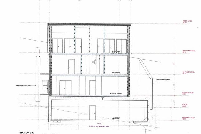 Section C-C of Polkirt Hill, Mevagissey, St. Austell PL26