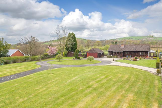 Thumbnail Detached bungalow for sale in Llanyre, Llandrindod Wells