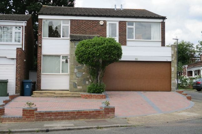 Thumbnail Detached house to rent in Kynaston Wood, Harrow