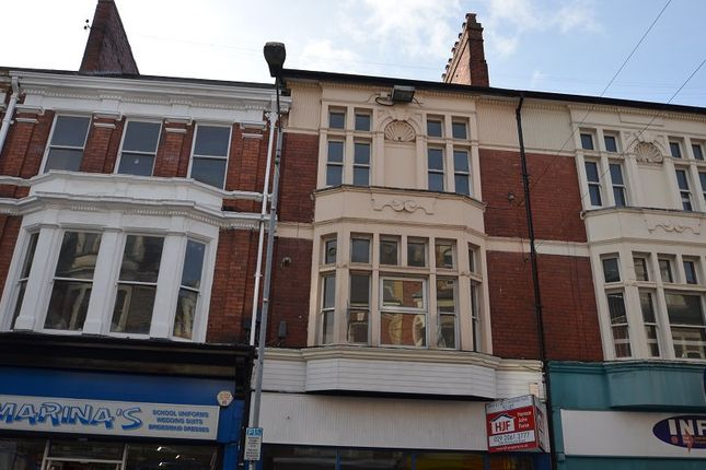 Thumbnail Flat to rent in 132 Commercial Street, Newport