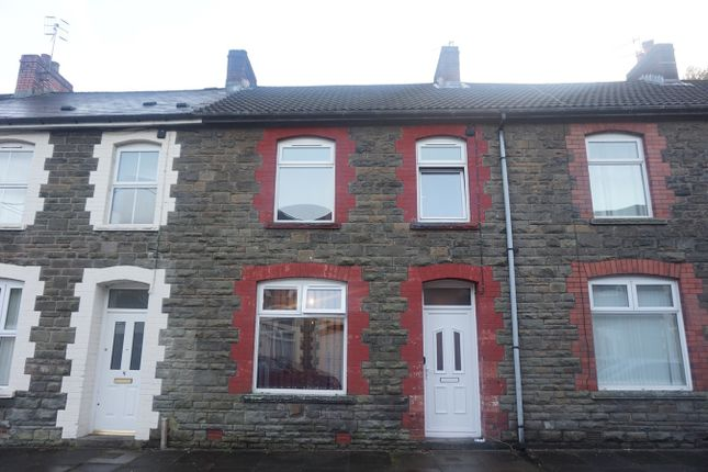 Thumbnail Terraced house for sale in John Street, Ynysddu, Newport