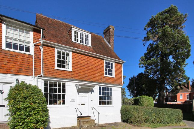 Thumbnail End terrace house for sale in The Hill, Cranbrook, Kent