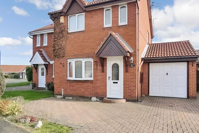 Thumbnail Semi-detached house to rent in Carrick Drive, Blyth