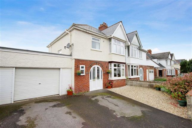 Thumbnail Semi-detached house for sale in Broome Manor Lane, Old Town, Swindon