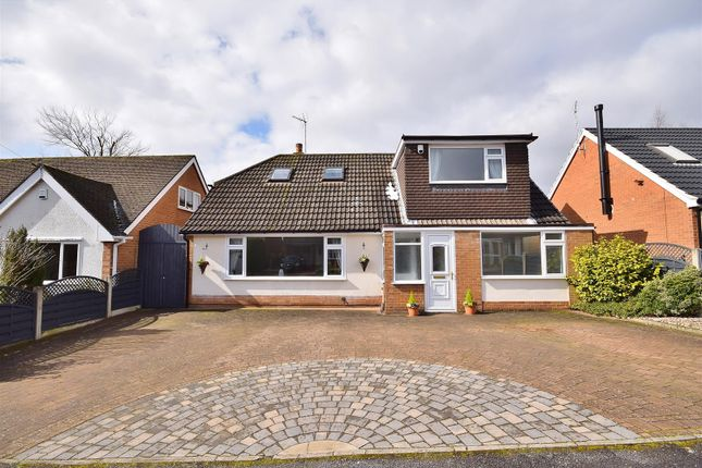 Thumbnail Detached bungalow for sale in Barbers Wood Close, Ravenshead, Nottingham