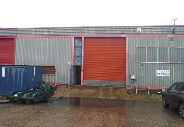 Warehouse to let in Unit 25, Somerton Industrial Park, Dargan Crescent, Belfast, County Antrim