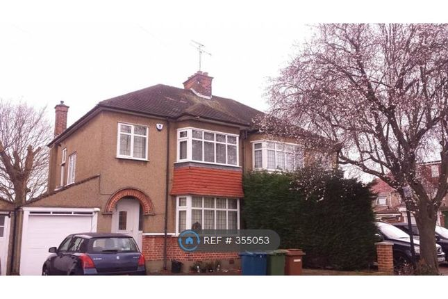 Thumbnail Semi-detached house to rent in Alfriston Avenue, North Harrow