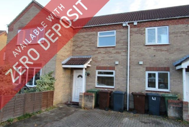 Thumbnail Town house to rent in Sixfield Close, Lincoln