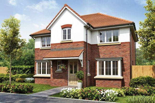 Thumbnail Detached house for sale in Barrington Park, Alsager, Cheshire