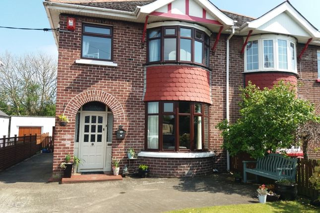Thumbnail Semi-detached house for sale in Portrush Road, Coleraine