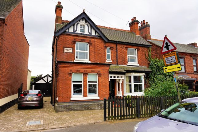 Thumbnail Detached house for sale in Ashby Road, Donisthorpe, Swadlincote