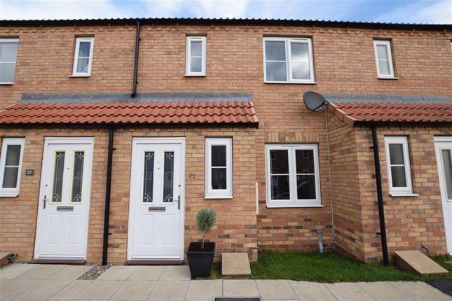Thumbnail Terraced house to rent in Camellia Close, Norton, Malton