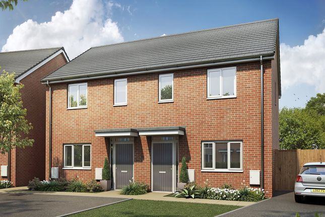 Thumbnail Semi-detached house for sale in Plot 90, The Kemble, Egstow Park, Off Derby Road, Clay Cross, Chesterfield