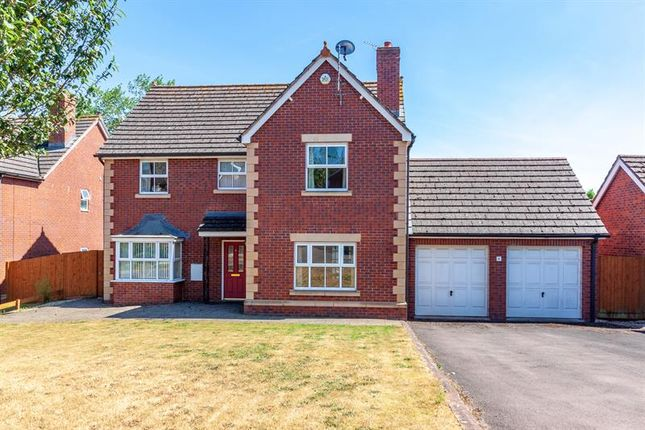 Thumbnail Detached house for sale in Rudhall Meadow, Ross-On-Wye
