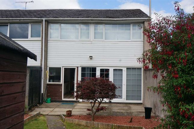 Thumbnail End terrace house for sale in Barke Road, Cumbernauld, Glasgow