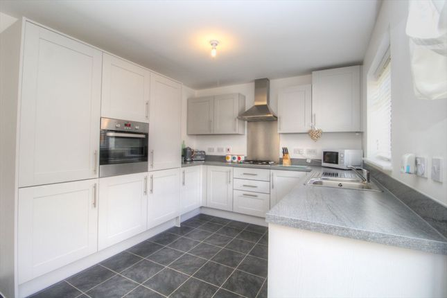 Thumbnail Semi-detached house for sale in Key Croft, New Cardington, Bedfordshire