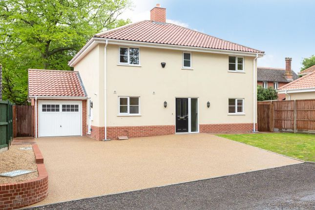 Thumbnail Detached house for sale in Abbots Hall Road, Stowmarket
