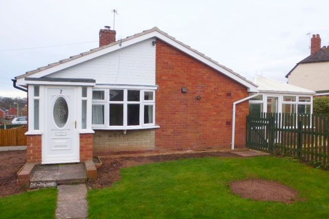 Thumbnail Bungalow to rent in Greenfields Road, Bridgnorth
